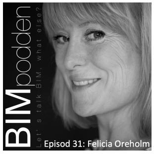 BIM-podden Felicia Oreholm-Vadå Hållbarhet?